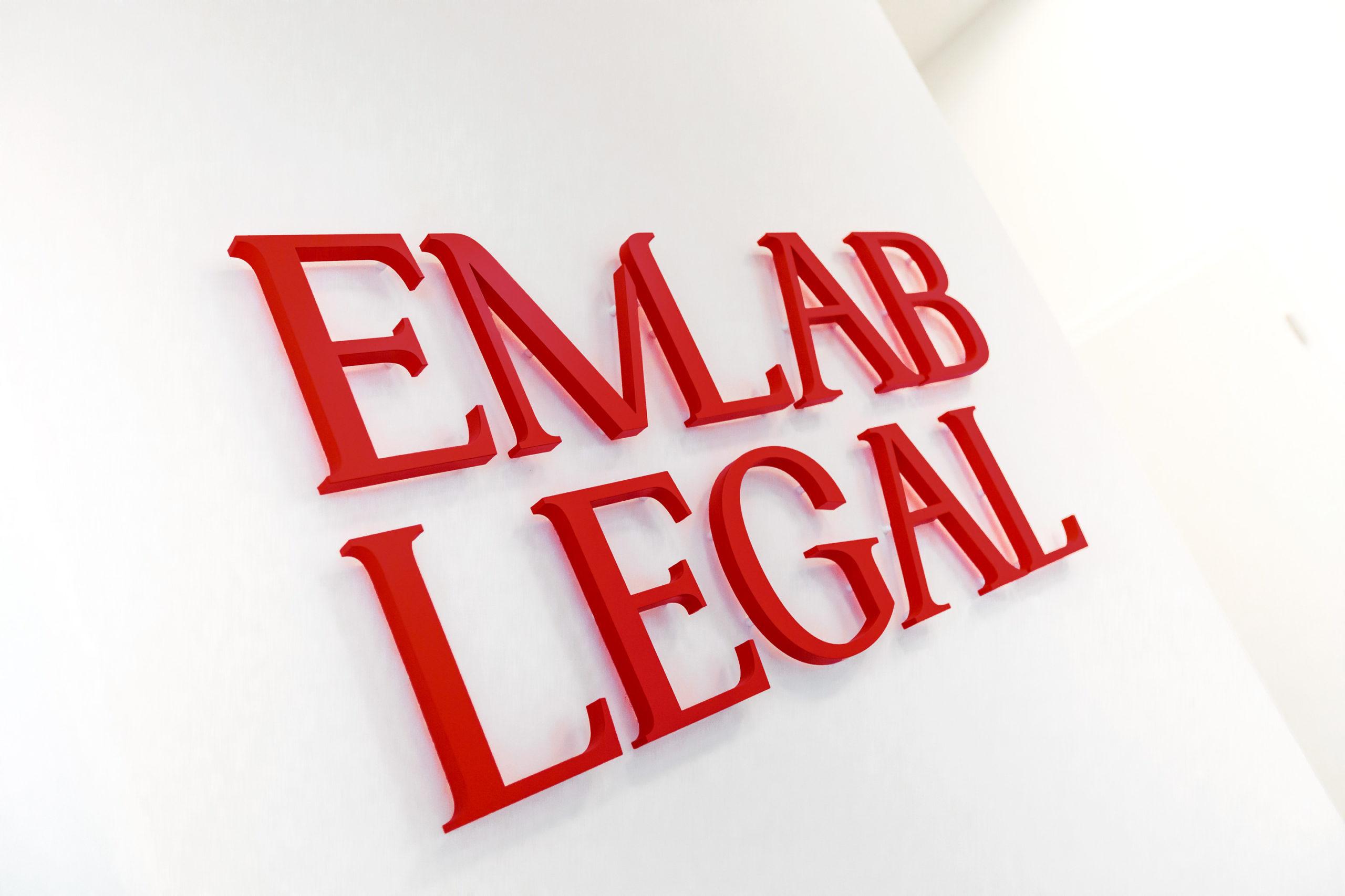 EmLab Legal Logo